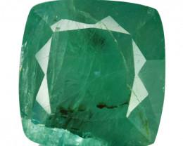 ~RARE~ 6.43 Cts Natural Bluish Green Grandidierite Cushion Cut Madagascar