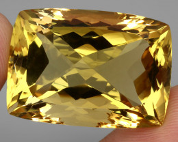 69.17 ct. 100% Natural Unheated Top Quality Yellow Golden Citrine Brazil