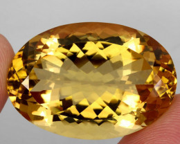 54.46 ct. 100% Natural Unheated Top Quality Yellow Golden Citrine Brazil