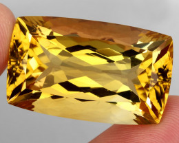 64.31 ct. 100% Natural Unheated Top Quality Yellow Golden Citrine Brazil