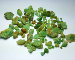 Beautiful Natural color Rough Emerald lot 250 Cts-Afghan#L