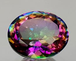 2.46Crt Mystic Quartz Natural Gemstones JI11