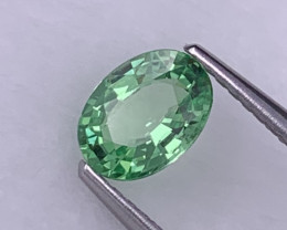 AAA Grade Mint Green Natural Tsavorite 0.82 Cts Amazing Luster