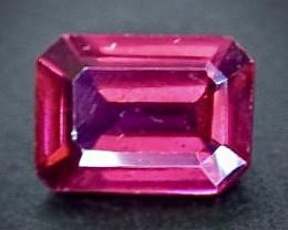 1.08 Crt Natural Rhodolite Garnet Faceted Gemstone.( AB 29)