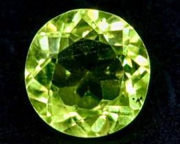 0.88 Crt Natural Peridot  Faceted Gemstone.( AB 29)