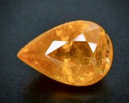 1.52 Crt Natural  Spessartite Garnet Faceted Gemstone.( AB 29)