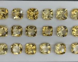 65.60 ct Citrine  Gemstones Parcel/ 18 pc