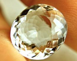 11.32 Carat VVS1 Brazil Goshenite White Beryl - Gorgeous