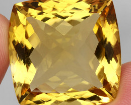 65.75 ct. 100% Natural Unheated Top Quality Yellow Golden Citrine Brazil