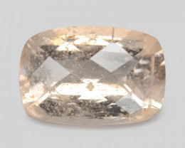 *No Reserve* Morganite 3.34 Cts Natural Pink Color Morganite Gemstone