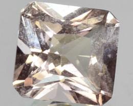 0.47 Cts Peach Pink Color Natural Morganite Gemstone