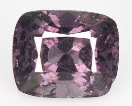 1.08 Cts Un Heated Very Rare Purple Pink Color Natural Spinel Gemstone