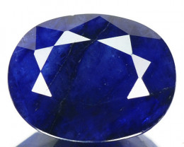 2.42 Cts Rare Fancy Blue Sapphire Natural Gemstone