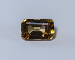 5.32ct. Lab Certified Yellow Cambodian Zircon