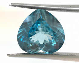 Natural Blue Zircon from Cambodia 6.94 cts (SKU Z78)