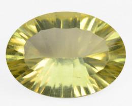 9.68 Cts Natural Lemon Quartz Gemstone