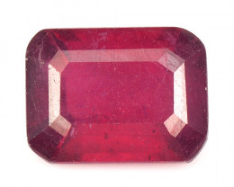 1.92 Cts Pinkish Red Natural Ruby BURMA  Loose Gemston