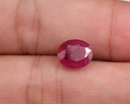**No Reserve** 3.7ct Oval-Cut Ruby