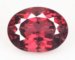 1.95 Cts Unheated Natural Cherry Pinkish Red Rhodolite Garnet Gemstone