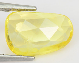 1.41 Cts Very Rare Yellow Color Natural Sapphire Loose Gemstones