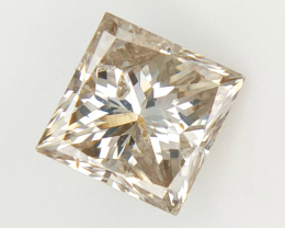 0.87 ct , Natural Champagne Diamond , Natural Diamond For Jewelry