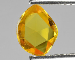 0.96 Cts Very Rare Yellow Color Natural Sapphire Loose Gemstone