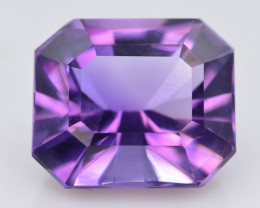 7.30 CT Natural Gorgeous Color Fancy Cut Amethyst