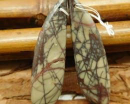 Gemstone creek jasper earring pairs (G2251)