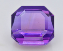 6.45 CT Natural Gorgeous Color Fancy Cut Amethyst