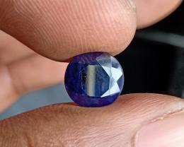 SAPPHIRE BLUE FACETED GEMSTONE GENUINE VA336