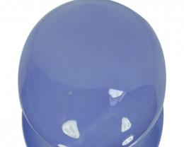 71.35Ct Fine Quality Blue Chalcedony Rare Gem Oval  Cab Turkey