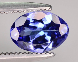Jewelry Size 0.70 ct Tanzanite eye catching Color ~ K