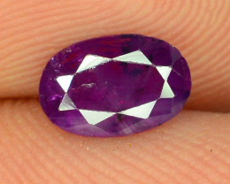 Top Clarity & Color 0.50 ct Rarest Pink Corundum Sapphire ~K