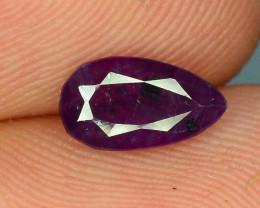 Top Clarity & Color 1.30 ct Rarest Pink Corundum Sapphire ~K