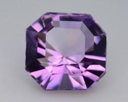 6.40 CT Natural Gorgeous Color Fancy Cut Amethyst