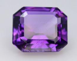 7.65 CT Natural Gorgeous Color Fancy Cut Amethyst