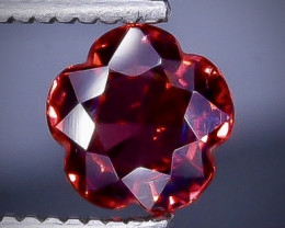 0.91 Crt  Grape Garnet  Faceted Gemstone (Rk-4)