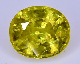 1.24 Crt  Sphene Faceted Gemstone (Rk-4)