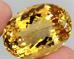 78.54  ct. 100% Natural Unheated Top Quality Yellow Golden Citrine Brazil