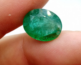 9.44cts  Zambian  Emerald , 100% Natural Gemstone