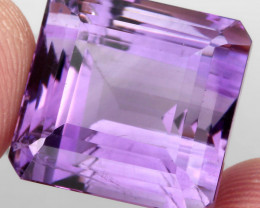 34.51 ct 100% Natural Earth Mined Unheated Purple Amethyst, Uruguay