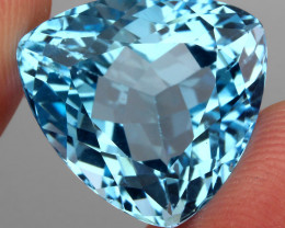 21.87 Ct. 100% Natural Earth Mined Top Quality Blue Topaz Brazil