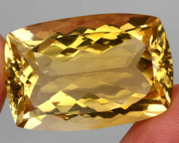 62.65 ct. 100% Natural Unheated Top Quality Yellow Golden Citrine Brazil