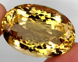 61.05  ct. 100% Natural Unheated Top Quality Yellow Golden Citrine Brazil