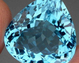 22.90 ct. 100% Natural Earth Mined Top Quality Blue Topaz Brazil