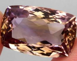 23.01 ct. 100% Natural Earth Mined Top Quality Ametrine Bolivia Unheated