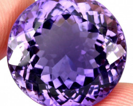 Superb! 27.63 ct 100% Natural Earth Mined Unheated Purple Amethyst, Uruguay