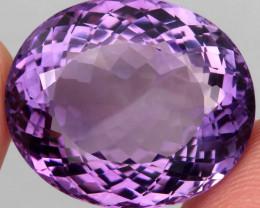 37.96 ct 100% Natural Earth Mined Unheated Purple Amethyst, Uruguay