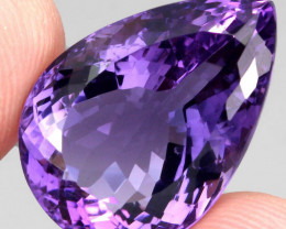 28.10 ct 100% Natural Earth Mined Unheated Purple Amethyst, Uruguay