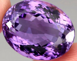 36.66 ct 100% Natural Earth Mined Unheated Purple Amethyst, Uruguay